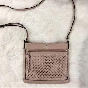 Kate Spade Cobble Hill Ellen Dot Cutout Crossbody